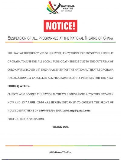 Notice! Notice!! Notice!!!